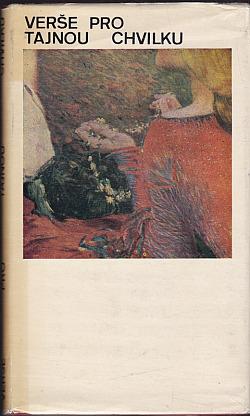 Verše pro tajnou chvilku obálka knihy