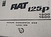 FIAT 125p, 1300 a 1500 - Katalog náhradních dílů