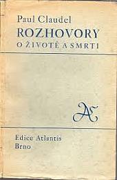 Rozhovory o životě a smrti obálka knihy