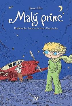 Malý princ (komiks) obálka knihy