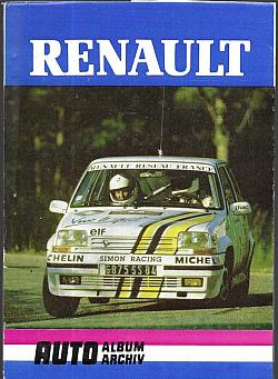 Renault obálka knihy