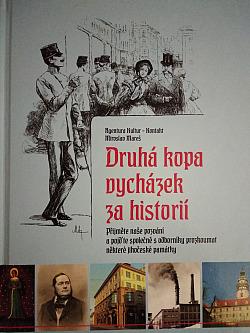 Druhá kopa vycházek za historií obálka knihy