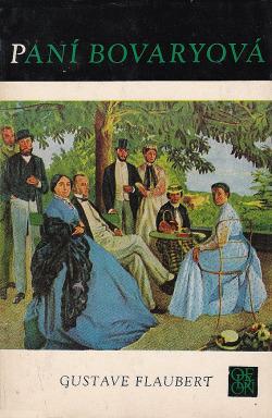 Paní Bovaryová obálka knihy