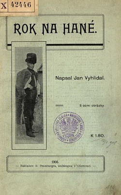 Rok na Hané obálka knihy