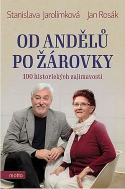 Od andělů po žárovky - 100 historických zajímavostí obálka knihy