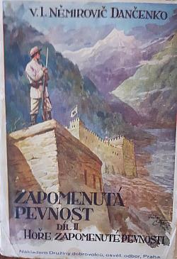 Hoře zapomenuté pevnosti, svazek 1 obálka knihy