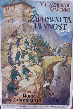 Hoře zapomenuté pevnosti, svazek 2 obálka knihy