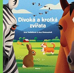 Divoká a krotká zvířata obálka knihy