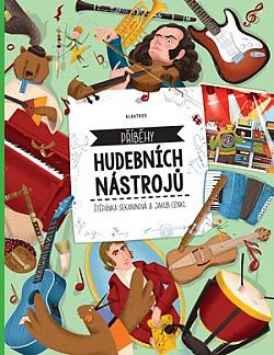 Příběhy hudebních nástrojů obálka knihy