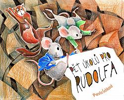 Pět úkolů pro Rudolfa obálka knihy