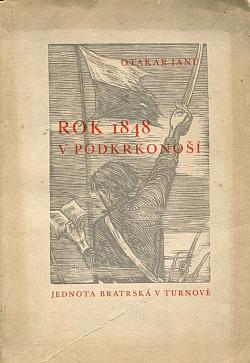 Rok 1848 v Podkrkonoší obálka knihy