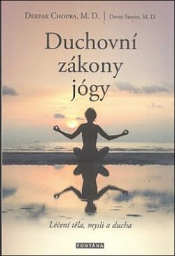 Duchovní zákony jógy obálka knihy