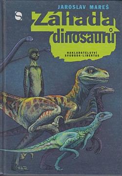 Záhada dinosaurů obálka knihy