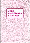 Deník středoškoláka z roku 1989