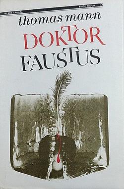 Doktor Faustus obálka knihy