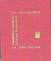 Ich, Don Quixote / Já, Don Quijote