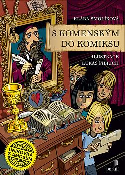 S Komenským do komiksu – Únikovka s Amosem obálka knihy
