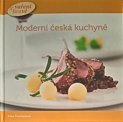 Moderní česká kuchyně - vaření hravě obálka knihy