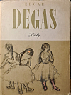 Edgar Degas Kresby