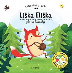 Liška Eliška jde na borůvky obálka knihy