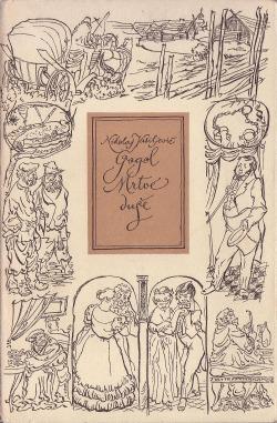 Mrtvé duše obálka knihy