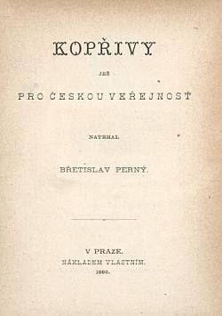 Kopřivy obálka knihy