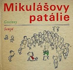 Mikulášovy patálie obálka knihy