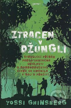 Ztracen v džungli obálka knihy