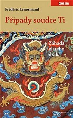 Záhada zlatého draka obálka knihy
