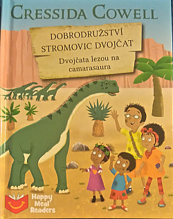 Dobrodružství Stromovic dvojčat - Dvojčata lezou na camarasaura