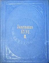 Josefa Jungmanna Sebrané drobné spisy veršem i prózou II obálka knihy