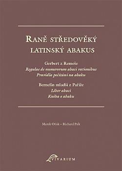 Raně středověký latinský abakus obálka knihy