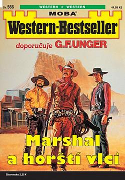Marshal a horští vlci obálka knihy