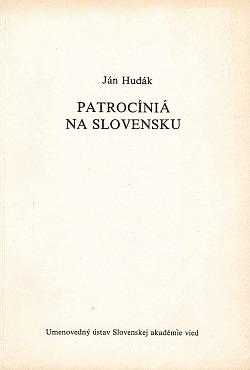 Patrocíniá na Slovensku obálka knihy