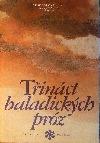 Třináct baladických próz obálka knihy