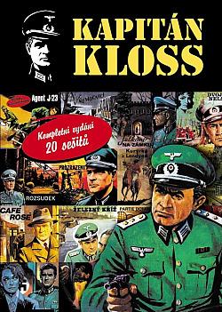 Kapitán Kloss - Kompletní vydání 20 sešitů obálka knihy