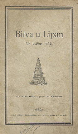 Bitva u Lipan 30. května 1434 obálka knihy