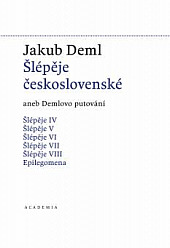 Šlépěje československé obálka knihy