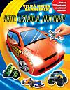 Auta, letadla, motorky - velká kniha samolepek