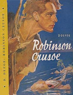Robinson Crusoe: dobrodružství na pustém ostrově obálka knihy
