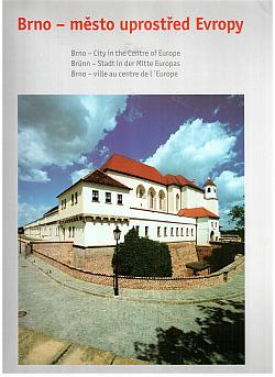 Brno - město uprostřed Evropy obálka knihy