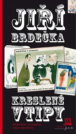 Kreslené vtipy obálka knihy
