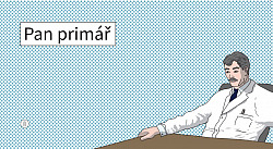 Pan Primář obálka knihy
