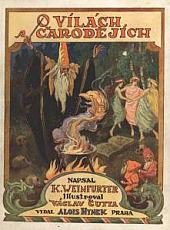 O vílách a čarodějích obálka knihy