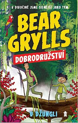 Dobrodružství v džungli obálka knihy