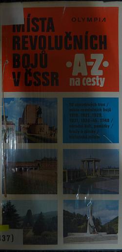 Místa revolučních bojů v ČSSR obálka knihy