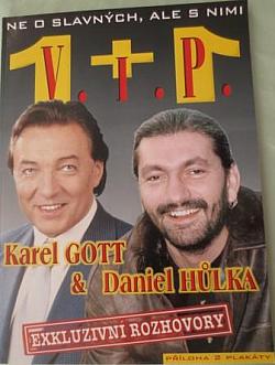 Karel Gott & Daniel Hůlka - Exkluzivní rozhovory obálka knihy