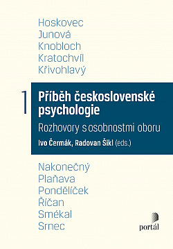 Příběh československé psychologie obálka knihy