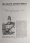 Musejní  zpravodaj - Umělecké a historické památky v Třebíči - Ukázka z připravené knihy