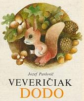 Veveričiak Dodo obálka knihy
